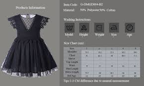 Us 81 41 5 Off Cutestyles 2019 Summer Style New Fashion Girl Black Dress Flower Lace Sleeve Kids Clothing Casual Girl Dress Vestidos Wholesale In