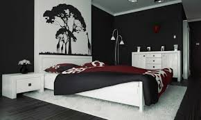 bedroom decorating ideas with black furniture. Ideas Black And White Bedroom Wall Decor With Incredible Sims Furniture 2018 Decorating 5