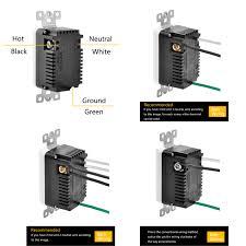 bestten 15amp 125volt tamper resistant gfci outlet receptacle 3