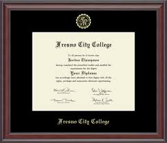 fresno city college gold embossed diploma frame in studio item  fresno city college gold embossed diploma frame in studio item 221752 from fresno city college bookstore