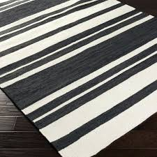 black and white striped rug 3x5 striped rug 8 x from yep black and white