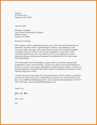 Example Of Motivation Letter For Scholarship Study Certificate