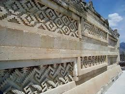 Resultado de imagen para greca escalonada de Mitla