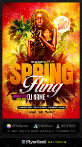 Flyer Backgrounds Psd Spring Fling Flyer Template Psd By Flyergeek Graphicriver