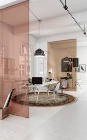 office divider wall. Visualisation - Office Partition, Pink Partitions Bring In A Soft Feminine Touch, Will Effectively Dividing Up The Space. Divider Wall