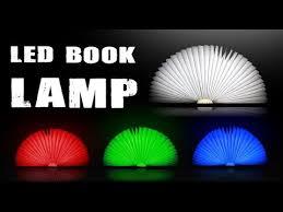 Shark Tank Book Light Best Creative Folded Book Style LED Lamp Color Lights Versionnot Lumio