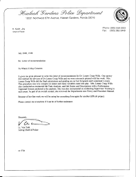 Sample Of Recommendation Letter For Promotion Free Cover Letter