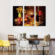 3 piece wine grape fruit vintage home canvas wall art paintings it make your day  on home wall art painting with 3 piece wine grape fruit vintage home canvas wall art paintings sale