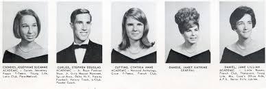 Laurie Cuttino The Senior Class Of Robert E Lee High School 1967 Jacksonville Fl