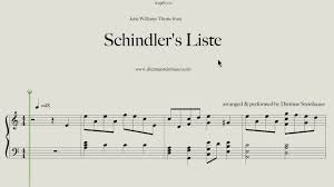 Inner Light Star Trek Sheet Music Schindlers Liste Main Theme By John Williams Music