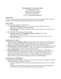 Sample Resumes For Internships For College Students Good Resume Format