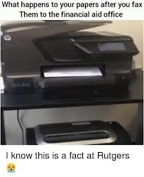 what happens to your papers after you fax them to