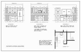 Kitchen Cabinet Design Template Kitchen Elevation Plan U Shape Kitchen Cabinets Design