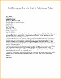 Draft Cover Letter Resume Writingver Letter Format Product Manager Samples