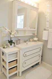 behr bathroom paintSuburbs Mama Master Bathroom Reveal Paint color is Behr Sterling