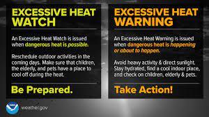 Excessive Heat Warnings ...