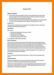Short Business Report Sample Short Business Report Template Magdalene Project Org
