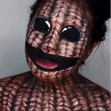 original the voodoo doll shown above makeup tutorial by jordan hanz and alex faction