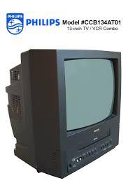 tv vcr combo new. philips model #ccb134at01 \u2013 13-inch tv / vcr combo tv vcr new 1