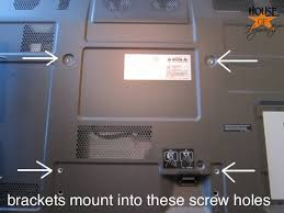 how to install tv mount.  Install Step 2 Attach Brackets To The Back Of TV And A Large Mounting Bracket  Wall With How To Install Tv Mount