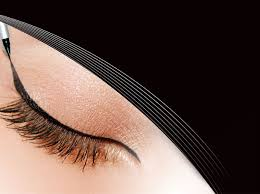 liquid eyeliner brush. apply liquid eyeliner the easy way brush