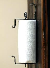 wall paper towel holder wall mounted iron paper towel holder hand forged by a wall paper wall paper towel holder
