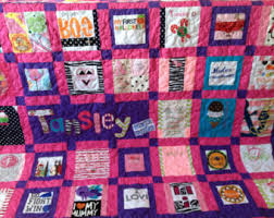 Baby Clothes Quilt Memory quilt made from clothes Deposit & Baby Clothes Quilt Memory quilt made from clothes - Deposit Adamdwight.com