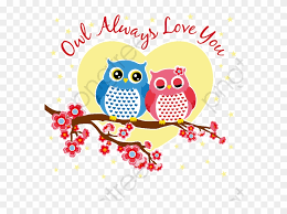 Cute Couple Png Love Clipart Owl Cute Owl Couple Png Download 4893561