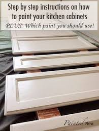 what is the best paint for kitchen cabinets120 painted cabinet makeover using Sherwin Williams White Duck