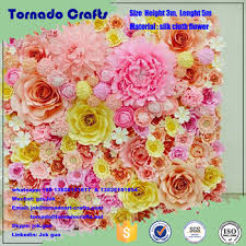 Pink Paper Flower Decorations Tornado Crafts Customized Size Artificial Paper Flower Wall Wedding Backdrop Flower Decoration Buy Paper Flowers Wedding Wall Decorations Wedding