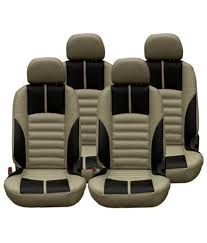 elaxa car seat cover for renault duster beige pack of 4