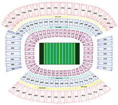 Browns Seating Chart Cleveland Browns Stadium Seating Browns Seating Chart For
