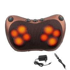 <b>Relaxation Massage Pillow Vibrator</b> Electric Shoulder Back Heating ...