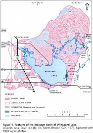Snipe Lake Depth Chart Winagami Lake