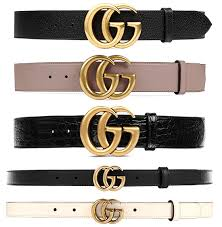 gucci double g interlocking gg logo buckle belt in small and brown croc