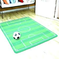 sports themed rugs area football rug pitch large inspirational for kids rooms in epic with