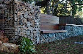 gabion walls can be used as retaining walls is certain cases and they too can be