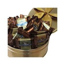 ghirardelli dark chocolate caramel squares gift tin