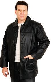 men s leather waist jackets