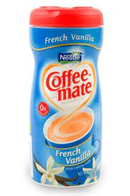 Many coffee aficionados consider adding creamer to coffee is sinful. Coffee Mate French Vanilla Non Dairy Creamer 15oz Mccullagh Coffee Roasters