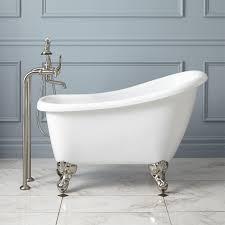 5 carter mini acrylic clawfoot tub bathroom claw foot soaking tub