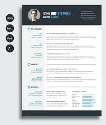 Free Modern Resume Template New Modern Free Premium Resume Templates Fancy Download Linkthingco
