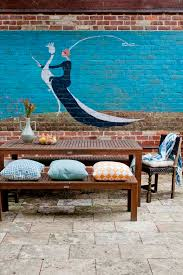 disguise a garden wall that s ugly