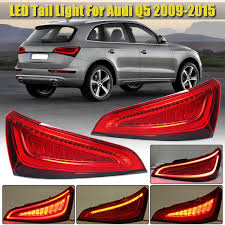 Audi Q5 Rear Lights For Audi Q5 2009 2015 Car Led Tail Lights Taillights Dynamic Flowing Unflowing Rear Brake Lamp Drl Turn Signal Brake Reverse