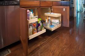 under cabinet basket storage - How To Maximize Under Cabinet ...