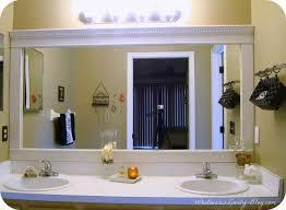 cottage bathroom mirror ideas. Wonderful Bathroom Brilliant Bathroom Mirror Frame Ideas Cottage Frames And B