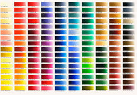 Old Holland Classic Oil Paint Printed Colour Chart