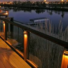 deck lighting. Deck Rail Lighting