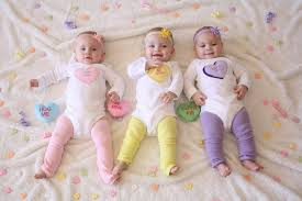 valentine39s day candy heart set of 3 bodysuits for