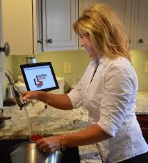 Kitchen Tablet Holder Mamas High Strung R Blog Archive Cabinet Mount For Smart